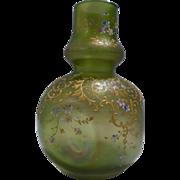 Loetz Enameled Pinched Vase