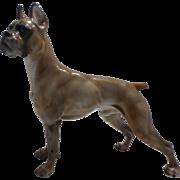 Rosenthal Boxer Dog Figure