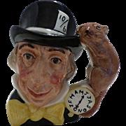 """Royal Doulton """"Mad Hatter"""" Small Character Jug"""