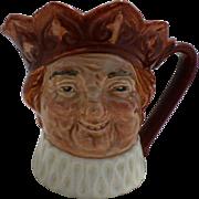 """Royal Doulton """"Old king Cole"""" Small Character Jug"""