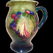 Moorcroft Pottery Pitcher
