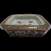 Rose Medallion Soap Dish