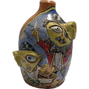Stacy Lambert North Carolina Southern Folk Pottery Face Jug