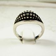 Georg Jensen Modernist Sterling Ring, No. 425