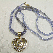 Stunning 14K Tanzanite Necklace