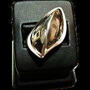 Georg Jensen Modernist 17.5 gr. Sterling Ring, No. 91