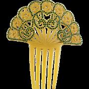 Vintage Mantilla Hair Comb