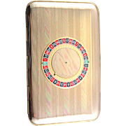 Charming Mid Century Cigarette Case from Majestic USA