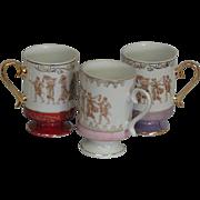 Vintage Royal Crown Coffee Mugs