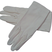 White Vintage Gloves