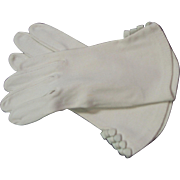 Beautiful Vintage Hand Stitched Gloves