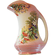 Vintage Beautiful Royal Winton Painted Pitcher