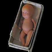 Vintage Kerr & Hinz, Santa Clara, Calf. Model B Handmade Baby Doll With Movable Arms & Legs