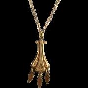 REDUCED Antique 14K Gold Filled Necklace