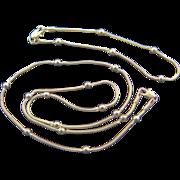 SALE   14K Gold Necklace and Bracelet