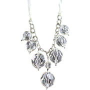 REDUCED Super Large Lucite Ribbon Necklace