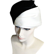 REDUCED Mme Esther Tri Colored Satin Hat