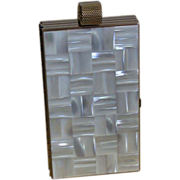 REDUCED SALE   Mother of Pearl Minaudiere/Necessair