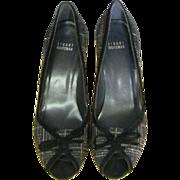 SALE   Stuart Weitzman Wool Plaid Shoe