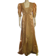 REDUCED Amazing Vintage Custom Made Peignoir