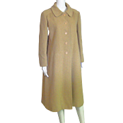 Stunning Vintage 100% Camel Hair Full Length Coat