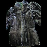 SALE   Very Old Mid 1800's Cotton Velvet Black Jacket