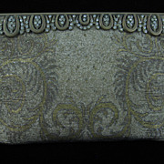 Cut Steel and Mixed Metals Beaded Purse