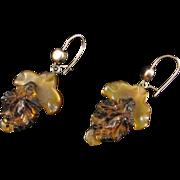 Victorian Horn Earrings