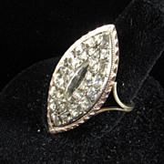 Exceptional Georgian Paste Ring