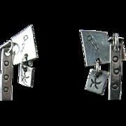 Sam Kramer Silver Earrings