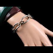 Kreisler Two-tone Retro Link Bracelet