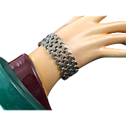 Sauteur by Renoir Sterling Link Bracelet