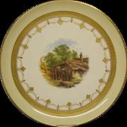 A Minton Hand-Painted Dessert Comport, c.1872