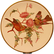 A Striking Wedgwood Cabinet Plate, c.1892