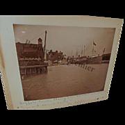 1897 Photo Buffalo Creek taken during GAR Encampment Steamers and Tugs