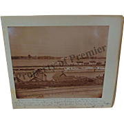 1897 Niagara River Steamer Boats Buffalo NY Erie Canal taken during GAR Encampment