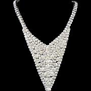 SALE Hollywood GLAMOUR Rhinestone Necklace