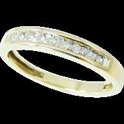 SALE DIAMOND Wedding Band Ring 10k Gold .20 ctw