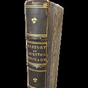 SALE Scarce CIVIL War Book History of Duryees Brigade 1864 Franklin Hough