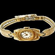 SALE Vintage Bulova 14k Gold Ladies Watch Running Beautiful Classic