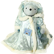 SALE Snow Queen Teddy Bear NABCO Hans Christian Anbearsen VIB Collection Limited Number
