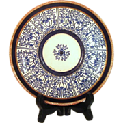 SALE Royal Worcester ROYAL LILY Plate  c. 1878