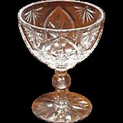 SALE Webb Corbett  Saucer Champagne Gothic Pattern