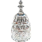 SOLD Waterford Paperweight Capital Dome Building  Cut Glass Crystal