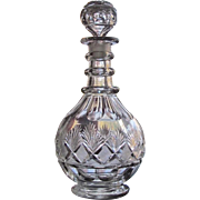 SALE C.1820/30's Decanter Three Ring OUTSTANDING
