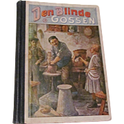 First Edition c.1909 Den Blinde Gossen The Blind Boy SWEDISH