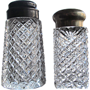 GROUP-2  Sugar Shaker  Cut Glass  1880-90's  Crystal