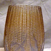 REDUCED c1900 Libby Maize Vase