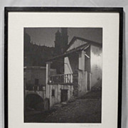 REDUCED Gordon C. Abbott Signed Original Photo Hotel Arcos 1930s-40s