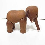 REDUCED Midcentury  Kay Bojesen Denmark Teak Wood Elephant Figure